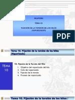 2016-01 TEMA 10 FIJACION DE LA TORSION POR VAPORIZADO.pptx