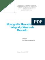 MONOGRAFIA MERCADOTECNIA.