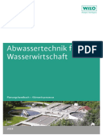 Wilo-Planungshandbuch Abwassertechnik Für Die Wasserwirtschaft - Klärwerksprozesse