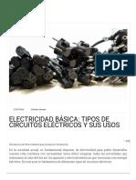 Tipos de Circuitos Eléctricos y Sus Usos. Electricidad Básica _ CEAC