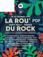La Route du Rock - collection hiver 2019 - le programme