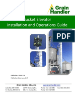 Grain Handler Bucket Elevator Installation and Ops Manual v12