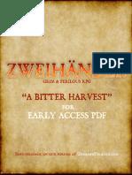 Adventure - A Bitter Harvest