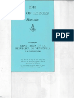 Libro de Logias regulares