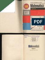 Manual Matematica Clasa a Viii A