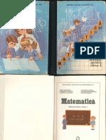Matematica Clasa 1 Manual Vechi