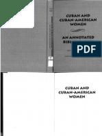 STONER , LYNN_Cuban and Cuban American Women_Annotated Bibliography