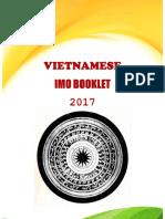 Vietnam IMO Booklet 2017