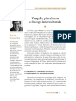 Vangelo, pluralismo e dialogo interculturale