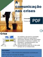Comunicação nas crises