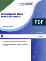 Capacitación en ProModel