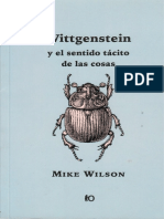 Wilson Mike Wittgenstein y El Sentido Tacito de Las Cosas PDF