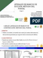 CARGAS LATERALES EN MARCOS DE CONSTRUCCIÓN MÉTODO DEL PORTAL.pptx
