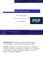 Lecture - RBC (Slides) (1) -real busines cicle uba