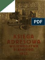 Księga Adresowa Województwa Śląskiego 1926-1927