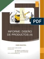 Diseño Del Producto -Informe
