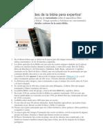 50 Curiosidades de La Biblia Para Expertos