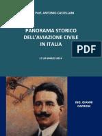 Panorama storico dell'aviazione civile italiana