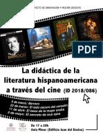 La didáctiva de la literatura hispanoamericana a través del cine