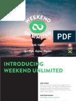 Weekend Unlimited IR Deck - 2509