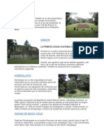 10 Sitios Arqueologicos de Guatemala