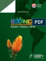 Memorias Congreso Xii Botanica 2018