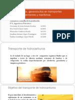 Transporte y Manejo de La Producción de petroleo.