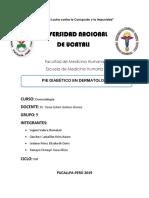 Pie Diabeticoen Dermatología Grupo 9