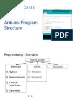 1. Arduino Program Structure