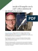 Han oscurecido el Evangelio con la justicia social.docx