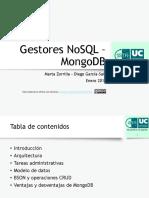 Gestores NoSQL