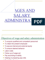 Wages and Salary Adm