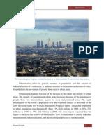 Urbanization - EVS Project