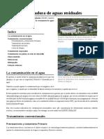 Estación Depuradora de Aguas Residuales