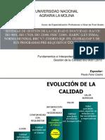 Interpretacion de La Norma Iso 9001-2015