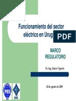 Funcionamiento Del Sector Eléctrico en Uruguay