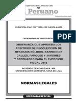 Arbitrios 2018 - MDSA