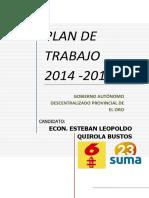 Manual Elaboración Plan Desarrollo Municipal 2016
