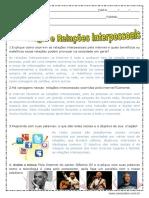 Atividade Da Música- Pela Internet de Gilberto Gil