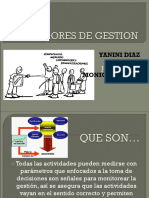 Indicadores de Gestion Darly