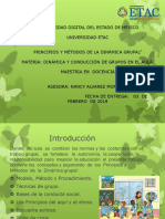 Principios y Metodos de La Dinamica Grupal