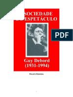 DEBORD, G. A sociedade do espetáculo.