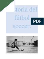 Historia del fútbol.