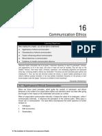 Chapter 16 Communication Ethics