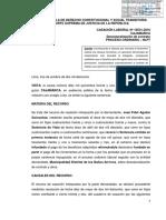 Incremento Remunerativo en El Convenio Colectivo Es Permanente - Casación Laboral 10531-2016 Cajamarca - Compilador José María Pacori Cari