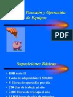 Costos de Posición y operación de los equipos.ppt