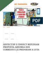 Custeio Do CorreioSaúde é Responsabilidade Da ECT _ Correios Do Brasil - Funcionários