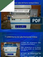 Alta temperatura  tubo del horno vertical 3 Zona.pptx
