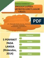 Perawatan Gout Artritis Pada Lansia
