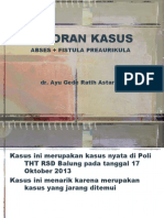 Laporan Kasus Abses Preaurikula.ppt